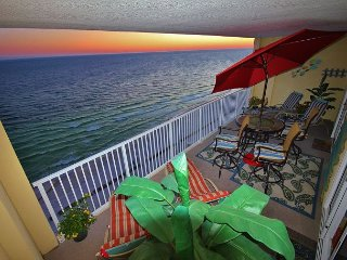 Beachy, Relaxing, 2 BR Gulf Front Condo in Ocean Reef - FREE Beach Service!! - Panama City Beach vacation rentals