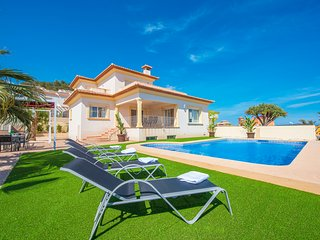 Villa Maximo - Private pool, superb sea views and BBQ. - Calpe vacation rentals