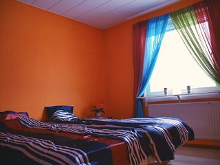 Orange room - private double beds - Kiruna vacation rentals