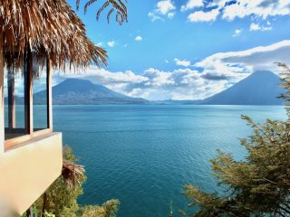 Breathtaking View - Cliffside Waterfront Retreat - Santa Cruz La Laguna vacation rentals