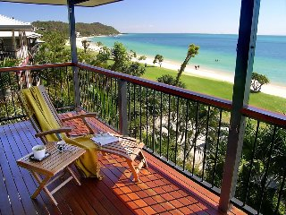 Beautiful beachfront home - a hop, a step & a jump to the water. - Tangalooma vacation rentals