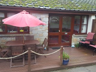 Lowena Lodge woodland chalet bungalow  Treva Croft,Lelant St Ives self catering - Saint Ives vacation rentals