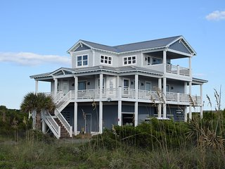 STUNNING OCEAN VIEWS, FAMILY FRIENDLY, NEW CONSTRUCTION - Bald Head Island vacation rentals