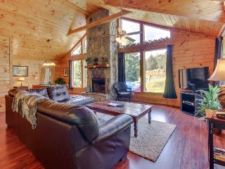 Updated cabin-style mountain home w/ sauna, private hot tub, dogs OK! - Sautee Nacoochee vacation rentals