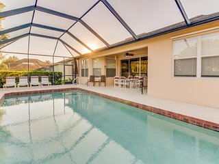Contemporary family-friendly home, with private pool & prime location! - Fort Myers vacation rentals