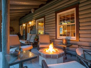 Gorgeous riverfront home & guesthouse w/ deck, hot tub, firepits & media room! - Trout Lake vacation rentals