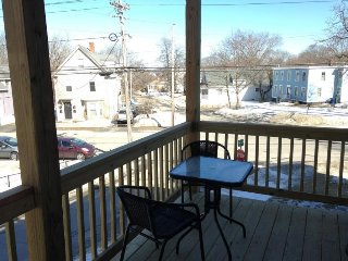 Inviting dog-friendly condo in Willard Square w/ a deck & grill! - South Portland vacation rentals