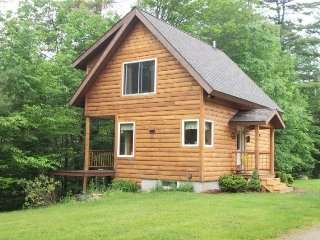 Quiet, private cabin with a very large yard located on the Swift River - Byron vacation rentals