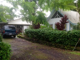 Beautiful 3 bedroom 2 bathroom Hawaiian home, LAVA viewing not far. - Pahoa vacation rentals