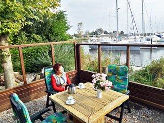 """6 pers. Chalet """"Seesicht"""" direkt am Lauwersmeer - Lauwersoog vacation rentals"""