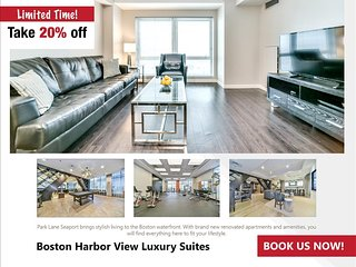 Boston Harbor View Two Bedroom Suite - Boston vacation rentals