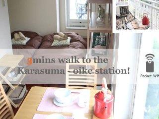 Cozy Studio Apartment Mid-Downtown /WIFI/#Kyoto#11 - Kyoto vacation rentals