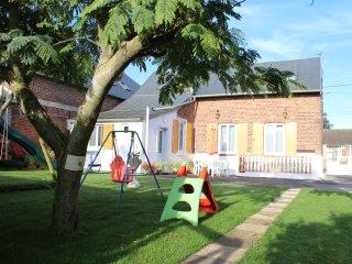 Gite à la campagne  avec salle de  fitness et de jeux  en Picardie - Omiecourt vacation rentals