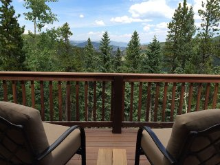 Mt. Evans Cabin with 150 Acres, Stream, Forever Views, Relaxing Destination - Idaho Springs vacation rentals