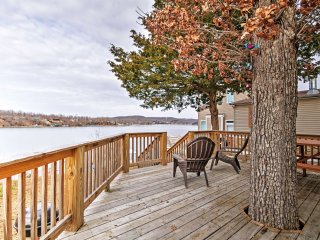 NEW! 'The Far Out' Camdenton Studio Cottage w/Dock - Camdenton vacation rentals