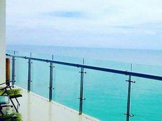 Brand new seafront pool gym sauna best location - Cartagena vacation rentals