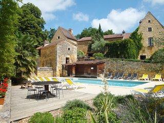 Gite de caractere à Bonaguil (11 pers) avec piscine chauffée en saison et tennis - Saint-Front-sur-Lemance vacation rentals