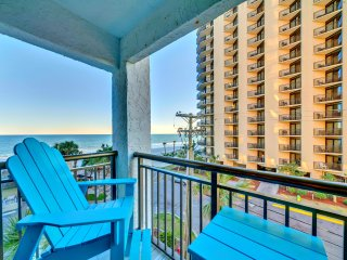 "Oceanfront Long Bay Resort End Condo/Marbletile/Xboxone/60""TV/Sleeps6/Freeputput - Myrtle Beach vacation rentals"