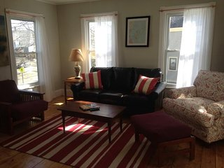 Bright & inviting dog-friendly condo w/ deck, gas grill, & wood stove! - South Portland vacation rentals