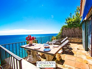Mamma Mia oceanfront house in Calella for 7 people, on the beaches of Costa - Calella vacation rentals