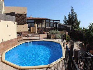Charming Villa with Stunning Volcanic Views & Pool - Villaverde vacation rentals