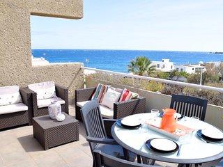 Sea view apartment (free wifi) - Poris de Abona vacation rentals