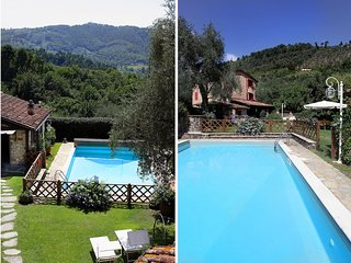 Casa La Pieve, on the hills with panorama, private pool. Up to 9 people. Ac wifi - Camaiore vacation rentals