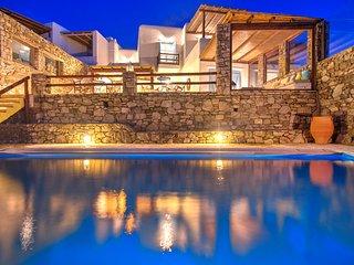 4 Bedroomed Private Pool Villa In Mykonos - GR203 - Kanalia vacation rentals