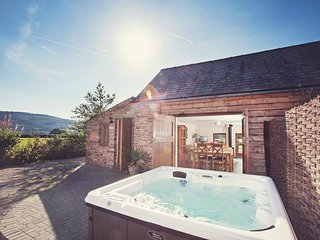 Lovely House with Hot Tub and Fireplace - Cwmdu vacation rentals