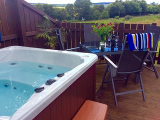 Charming House with Internet Access and Hot Tub - Kirkconnel vacation rentals