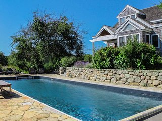 MERRY - Merry Farm Summer Estate, Heated Pool, Set on 28 Acres, Open Meadows - West Tisbury vacation rentals