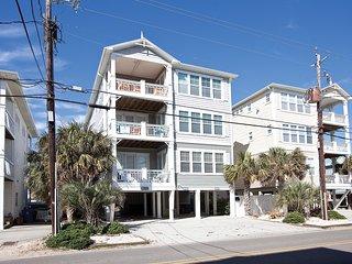 Sandscape 1 - Ocean View - Pool - Steps to Beach - 3BR/2BA Beach House - 5 Star - Carolina Beach vacation rentals