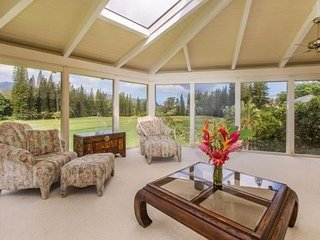 KING HALE / BEAUTIFUL GOLF COURSE HOME - Princeville vacation rentals