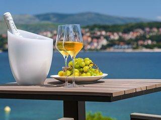 Luxury Villa Trogir II by the beach with outdoor & indoor pool, jacuzzi, gym - Okrug Gornji vacation rentals