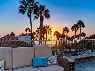 March-April Special $249/night! Luxury, Ocean View Beach Condo Just Steps to Beach and Pier in Pier Bowl! - San Clemente vacation rentals