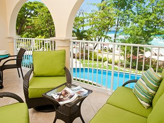 Family-Friendly Dover Beach Barbados Condo With Vibrant Aqua Sea Views - Dover vacation rentals