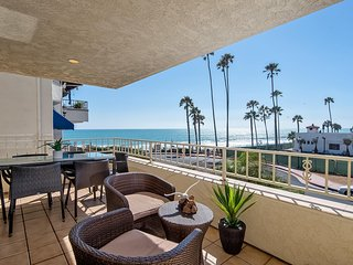 Ocean Views, Steps to beach access at North Beach, San Clemente. - San Clemente vacation rentals