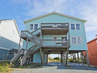 Walking On Sunshine - Pelican -  Spectacular Oceanfront View and Direct Beach - Topsail Beach vacation rentals