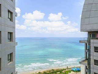Luxurious Kosher sea view apartment with pool and gym in Sea Opera - Netanya vacation rentals