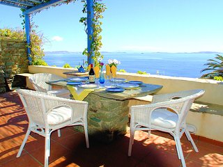Spacious villa with Superb Panoramic Views near the Beach - Agios Sostis vacation rentals