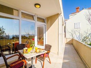Apartments Subrenum - Premium Studio Apartment with Terrace and Sea View - Mlini vacation rentals