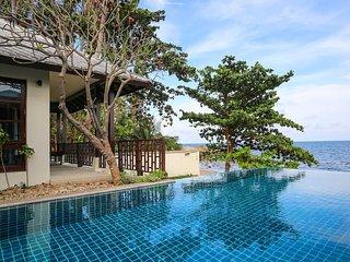 4 Bedroom Beachfront villa in 5* Beach Resort - Choeng Mon vacation rentals