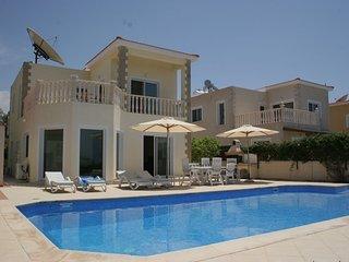 Luxury 3 Bedroom 3 Bathroom Villa Own Pool - Agios Georgios vacation rentals