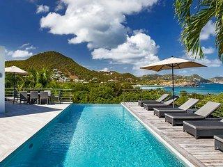 St Barts Endless Ocean Views Modern Luxury Villa with Infinity Pool - Saint Jean vacation rentals