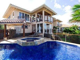 Orchid House, Panoramic Ocean views, AC, private warm pool, walk tobeaches. - Poipu vacation rentals