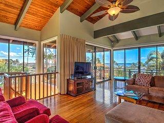 2300 sq. ft. Ocean View 3Br/2Ba-A/C-Walk To Beach - Poipu vacation rentals