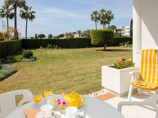 Lovely apartment with garden and seaviews - Mijas vacation rentals