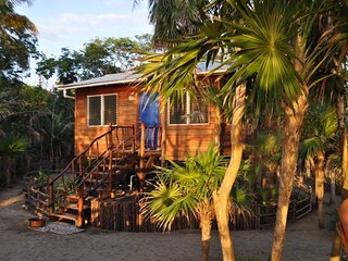 Bamboo Bungalow on the Beach at Leaning Palm Resort - Gales Point vacation rentals
