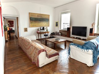 Above Trastevere rooftops - Rome vacation rentals