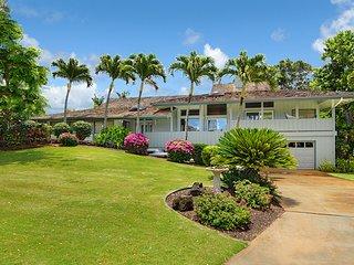 Hawaiian Hibiscus home- AC, private pool/SPA, 1.3 mile to Poipu beach in GOLF - Poipu vacation rentals